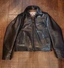 aero leather jacket outer half belt