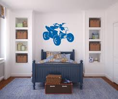 Atv Wall Decal 4 Wheeler Decal Boys Room Wall Decal Atv Etsy