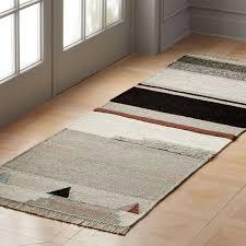 modern kitchen rugs cb2