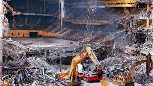 looking at the old boston garden