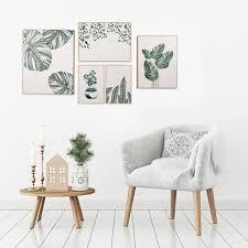 sf5170 5e eddy home mdf wall art set 5