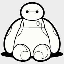 Baymax Staying Front View Png Clipart Baymax Macbook Decal Transparent Cartoon Jing Fm