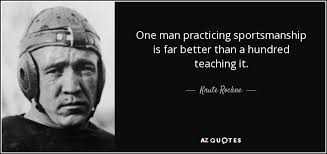 TOP 25 QUOTES BY KNUTE ROCKNE | A-Z Quotes | Knute rockne, Knute rockne  quotes, 25th quotes