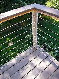 Well Designed Corner Post Top Railing Shouldn T Be Flat So It Will Shed Water Modern Deck Deck Railing Design Deck Railings