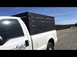 how to make wood side rack for truck