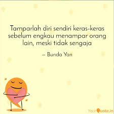 tamparlah diri sendiri ke quotes writings by yani astuti