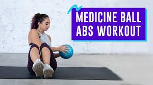 10 minute cine ball abs workout