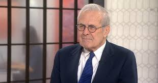 Donald Rumsfeld: Donald Trump has 'touched a nerve in our country'