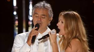 Céline Dion & Andrea Bocelli The Prayer Live NYC Central Park 2011 ...