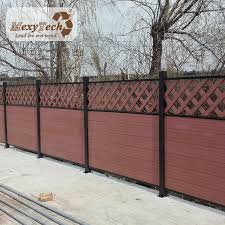 China Lattice Design Fence Panels Privacy Fence New Ideas For Backyard Photos Pictures Made In China Com
