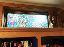 stained glass privacy window filters
