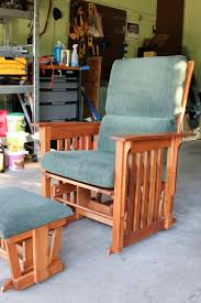 how to reer a glider rocking chair