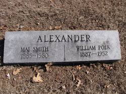 "Mary Ann ""Mai"" Smith Alexander (1885-1980) - Find A Grave Memorial"