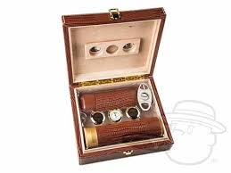 the alligator brown 25 count humidor