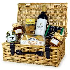 any occasion gift basket with red wine