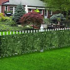 Artificial Faux Ivy Leaf Privacy Fence Screen Decor Panels Cover Outdoor Hedge 38 99 Picclick