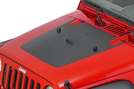 Quadratec 13135 1000 Premium Vinyl Hood Blackout Decal For 07 18 Jeep Wrangler Jk Quadratec