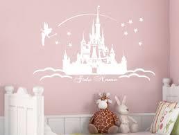 Personalised Princess Castle Wall Stickers Kinderkamer Prinsessenkamer Jongenskamer