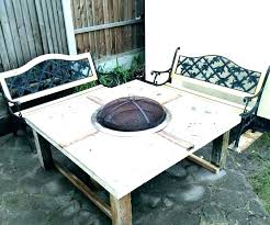 gas fire pit table glass instantfeed me
