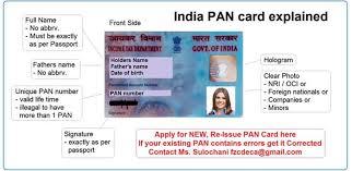pan permanent account number
