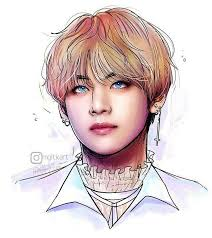 taehyung fanart okay but he