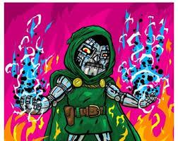 Dr Doom Etsy