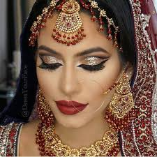 modern indian wedding makeup if you are