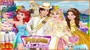 Trò chơi công chúa Disney ♥ Đám cưới công chúa tóc mây Rapunzel ...