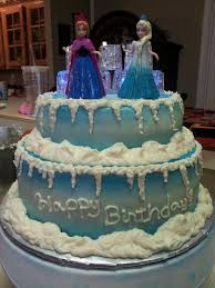Elsa And Anna Birthday Cake The Cake Boutique