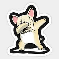 French Bulldog Decal Sticker Cute Fun Frenchie Dog Car Window Vinyl Cs Home Garden Decor Decals Stickers Vinyl Art Gastrope Com Br