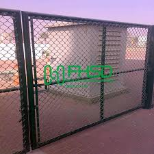 China Galvanized Pvc Coated Customize Chain Link Fence Gates Chainlink Fence China Garden Fence Wire Mesh Fence