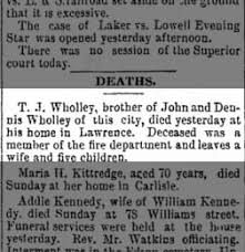The Lowell Sun from Lowell, Massachusetts on April 17, 1894 · Page 1