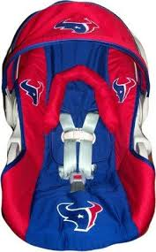 houston texan infant car seat cover by