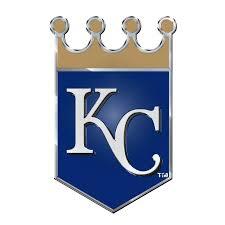 Kansas City Royals Color Emblem 3 Car Team Decal