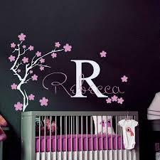 الفتيات اسم و الأولي جدار الشارات المنزل الفتيات غرفة نوم شجرة ورد