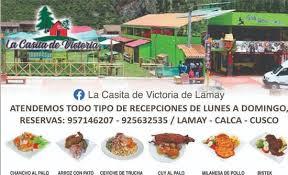la casita de victoria de lamay menu