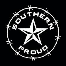 Southern Proud Window Decal South Life Florida Confederate Sticker Rebel Decals Stickers Patches