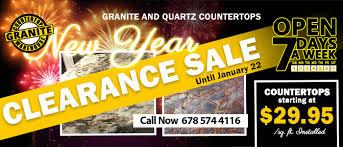 clearance granite countertop