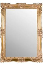 very ornate gold mirror large classic