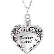 loved one with beautiful memorial jewelry