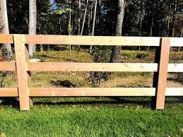 3 Rail Horse Fencing Rail Fence Third Rail Fence