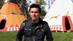 Adam Beach Explores Stampede Indian Village | CBC - YouTube