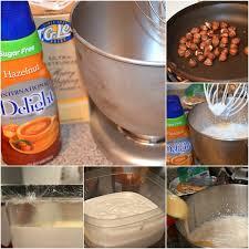 homemade hazelnut ice cream no machine