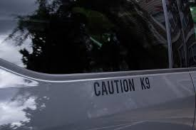 Caution K9 Decal Landshark Supply