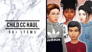 child cc haul 50 items hair
