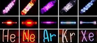 Resultado de imagen de Los gases nobles