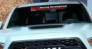 Trd Racing Development Sport Windshield Banner Vinyl Decal Etsy