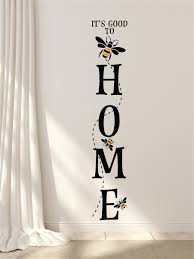 It S Good To Bee Home Decor Vinyl Decal Wall Stickers Letters Words Bee Decor Porch Sign Board Design