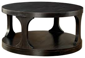 coffee table antique black homeroots 307392