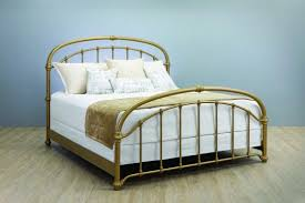 Wesley Allen Birmingham Iron Bed with Metal Profile: Western Passion